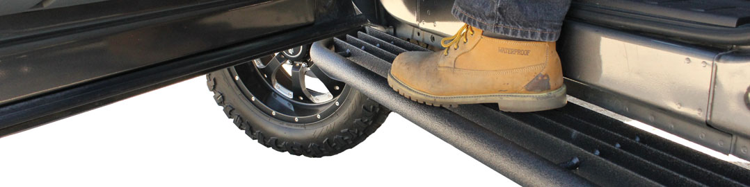 GO Rugged Steps at TruckLogic