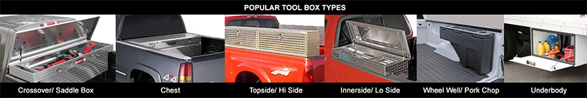 Truck tool boxes for Trucks, Chevy, Ford, Dodge, Toyota