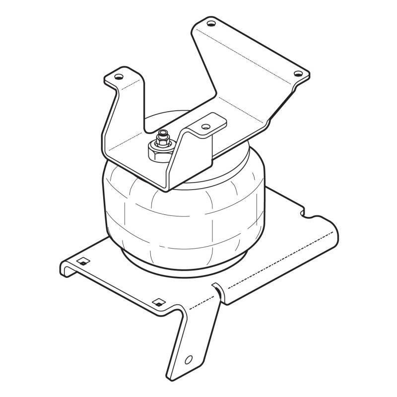 Truck Air Ride Suspension Diagram