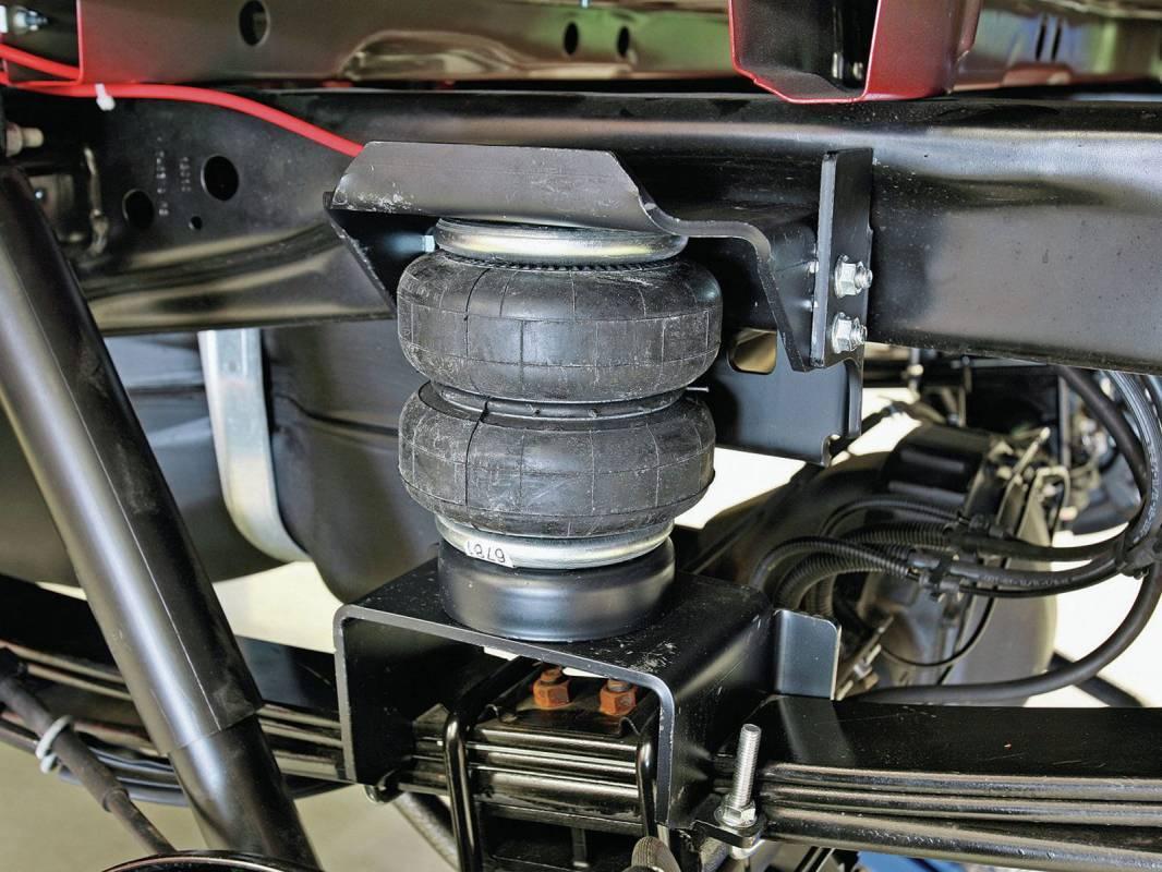 Firestone Ride Rite Air Bag Helper Springs 2598 Truck Logic