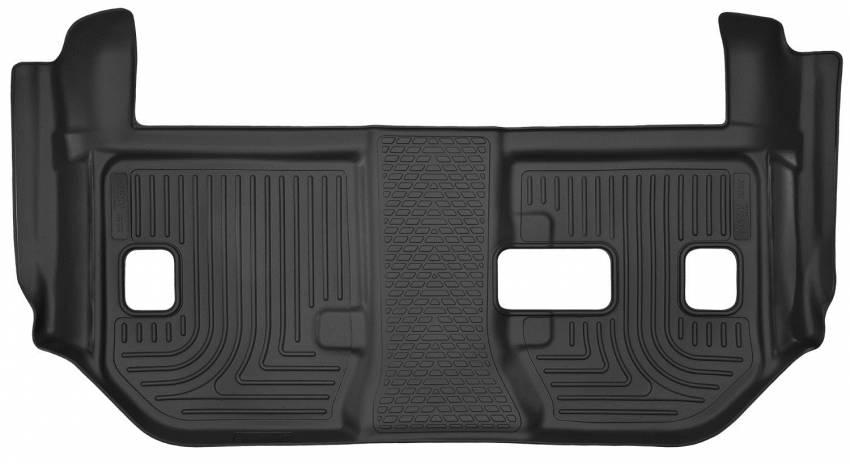 Husky Liners - Husky Liners 53291 X-act Contour Third Row Floor Mat Set