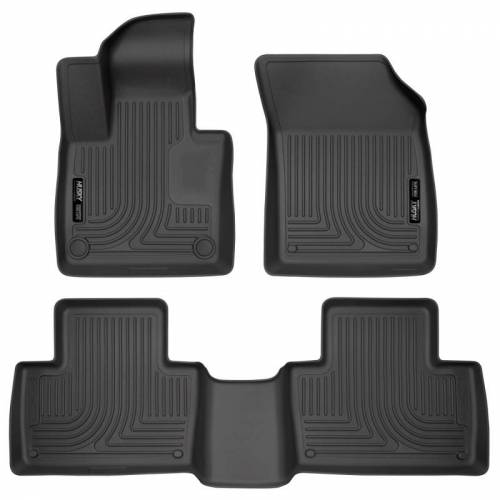 Husky Liners - Husky Liners 95601 WeatherBeater Front and Rear Floor Liner Set