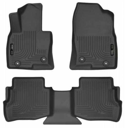 Husky Liners - Husky Liners 95611 WeatherBeater Front and Rear Floor Liner Set