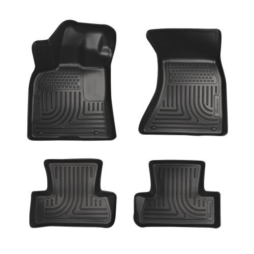 Husky Liners - Husky Liners 96411 WeatherBeater Front and Rear Floor Liner Set
