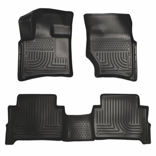 Husky Liners - Husky Liners 96421 WeatherBeater Front and Rear Floor Liner Set