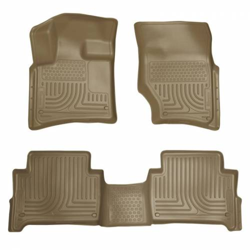 Husky Liners - Husky Liners 96423 WeatherBeater Front and Rear Floor Liner Set