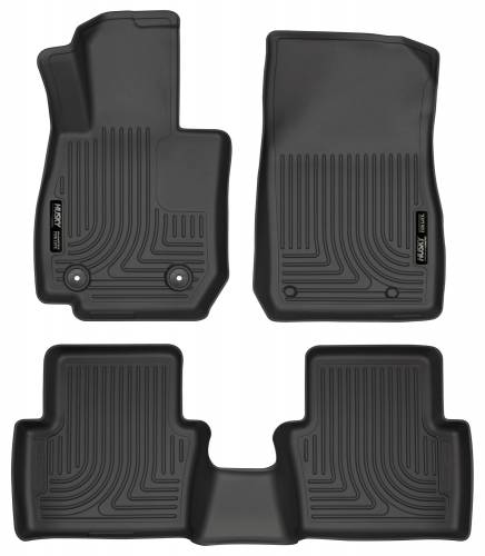 Husky Liners - Husky Liners 96701 WeatherBeater Front and Rear Floor Liner Set