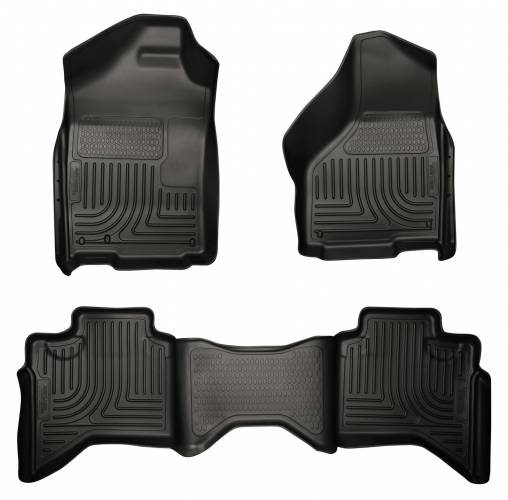 Husky Liners - Husky Liners 98031 WeatherBeater Front and Rear Floor Liner Set