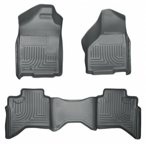 Husky Liners - Husky Liners 98032 WeatherBeater Front and Rear Floor Liner Set