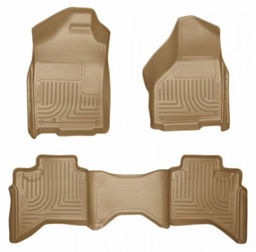 Husky Liners - Husky Liners 98033 WeatherBeater Front and Rear Floor Liner Set