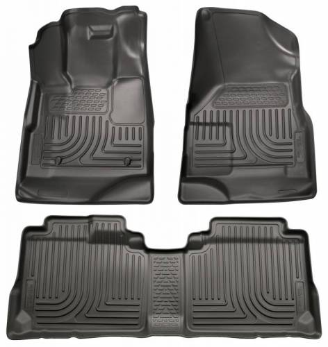 Husky Liners - Husky Liners 98131 WeatherBeater Front and Rear Floor Liner Set