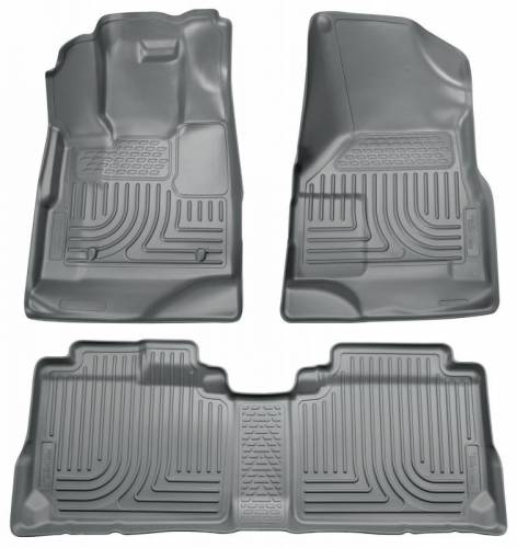 Husky Liners - Husky Liners 98132 WeatherBeater Front and Rear Floor Liner Set