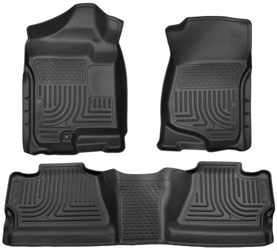 Husky Liners - Husky Liners 98201 WeatherBeater Front and Rear Floor Liner Set
