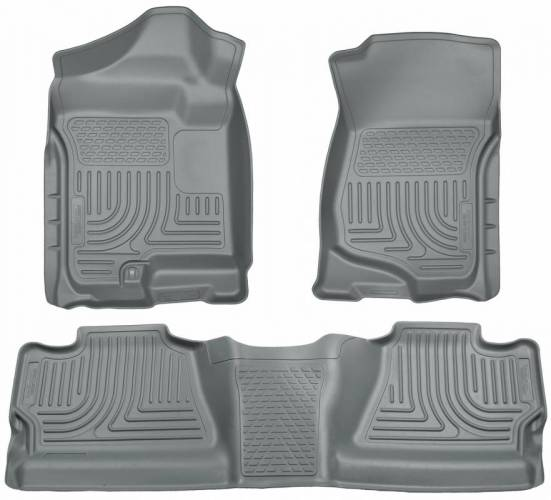 Husky Liners - Husky Liners 98202 WeatherBeater Front and Rear Floor Liner Set