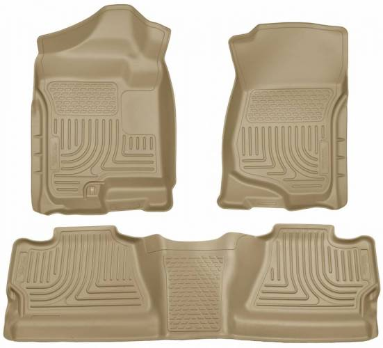 Husky Liners - Husky Liners 98203 WeatherBeater Front and Rear Floor Liner Set