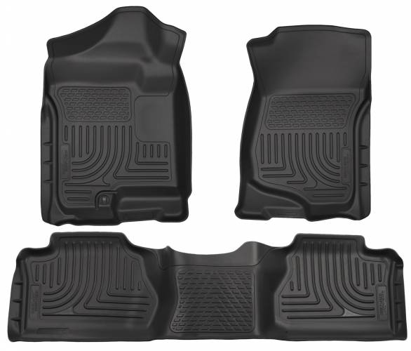 Husky Liners - Husky Liners 98211 WeatherBeater Front and Rear Floor Liner Set