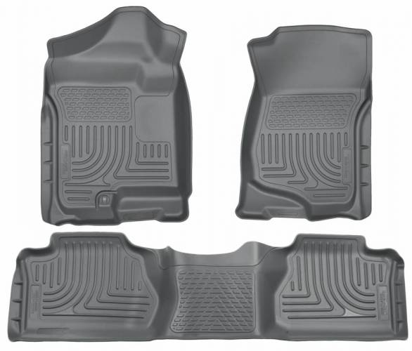 Husky Liners - Husky Liners 98212 WeatherBeater Front and Rear Floor Liner Set