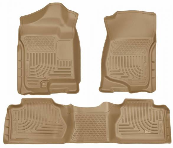 Husky Liners - Husky Liners 98213 WeatherBeater Front and Rear Floor Liner Set