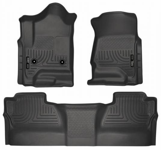 Husky Liners - Husky Liners 98231 WeatherBeater Front and Rear Floor Liner Set
