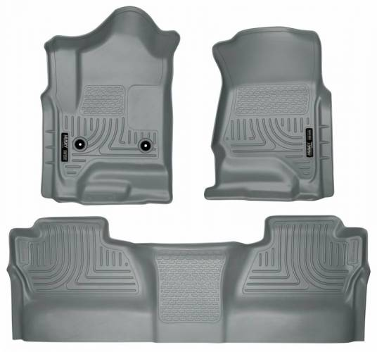 Husky Liners - Husky Liners 98232 WeatherBeater Front and Rear Floor Liner Set