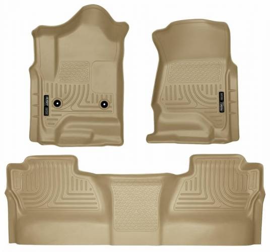 Husky Liners - Husky Liners 98233 WeatherBeater Front and Rear Floor Liner Set