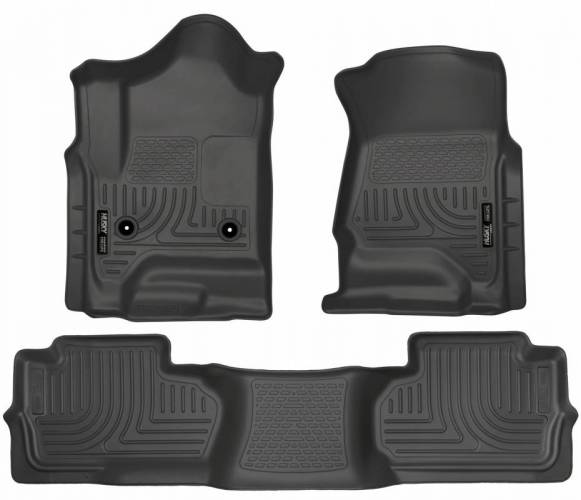 Husky Liners - Husky Liners 98241 WeatherBeater Front and Rear Floor Liner Set