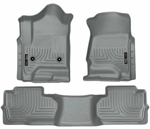 Husky Liners - Husky Liners 98242 WeatherBeater Front and Rear Floor Liner Set