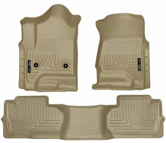 Husky Liners - Husky Liners 98243 WeatherBeater Front and Rear Floor Liner Set