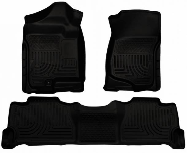 Husky Liners - Husky Liners 98251 WeatherBeater Front and Rear Floor Liner Set