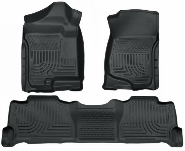Husky Liners - Husky Liners 98252 WeatherBeater Front and Rear Floor Liner Set