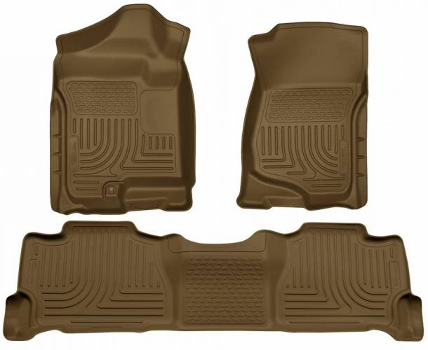 Husky Liners - Husky Liners 98253 WeatherBeater Front and Rear Floor Liner Set