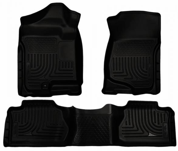 Husky Liners - Husky Liners 98261 WeatherBeater Front and Rear Floor Liner Set