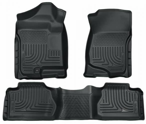 Husky Liners - Husky Liners 98262 WeatherBeater Front and Rear Floor Liner Set