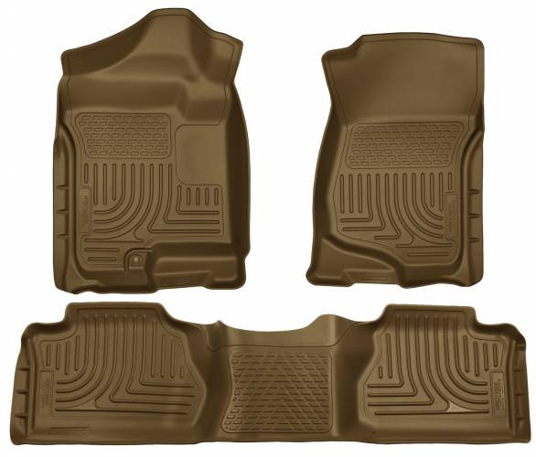 Husky Liners - Husky Liners 98263 WeatherBeater Front and Rear Floor Liner Set