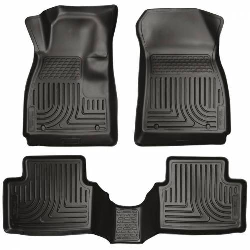 Husky Liners - Husky Liners 98271 WeatherBeater Front and Rear Floor Liner Set