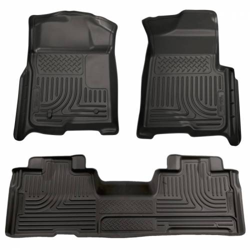 Husky Liners - Husky Liners 98341 WeatherBeater Front and Rear Floor Liner Set