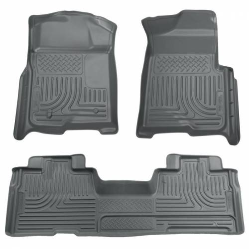 Husky Liners - Husky Liners 98342 WeatherBeater Front and Rear Floor Liner Set
