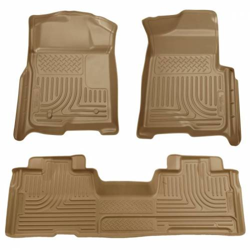 Husky Liners - Husky Liners 98343 WeatherBeater Front and Rear Floor Liner Set