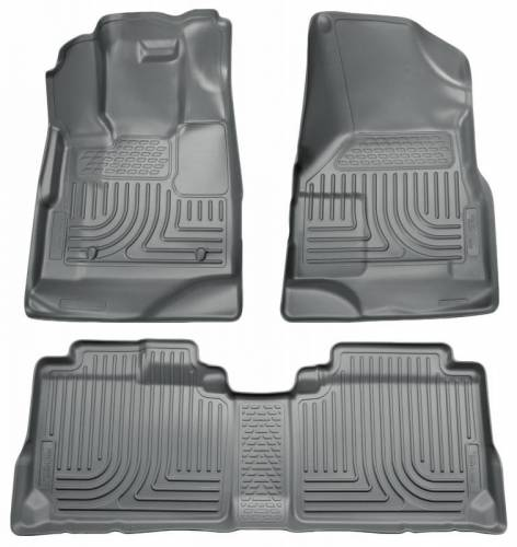 Husky Liners - Husky Liners 98352 WeatherBeater Front and Rear Floor Liner Set