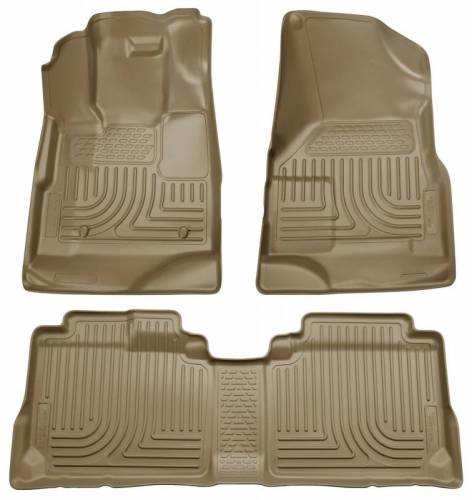Husky Liners - Husky Liners 98353 WeatherBeater Front and Rear Floor Liner Set