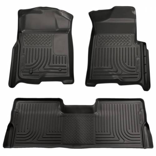 Husky Liners - Husky Liners 98381 WeatherBeater Front and Rear Floor Liner Set