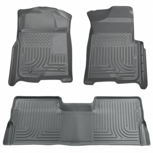 Husky Liners - Husky Liners 98382 WeatherBeater Front and Rear Floor Liner Set