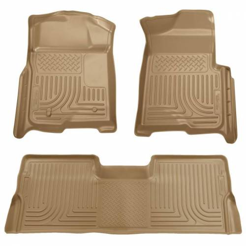Husky Liners - Husky Liners 98383 WeatherBeater Front and Rear Floor Liner Set
