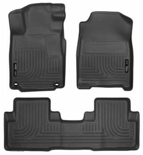 Husky Liners - Husky Liners 98451 WeatherBeater Front and Rear Floor Liner Set