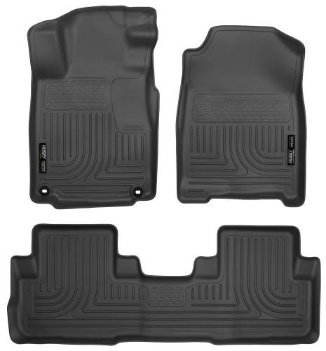 Husky Liners - Husky Liners 98471 WeatherBeater Front and Rear Floor Liner Set