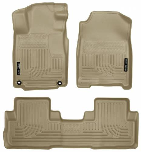Husky Liners - Husky Liners 98473 WeatherBeater Front and Rear Floor Liner Set