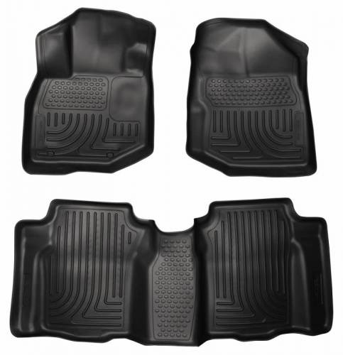 Husky Liners - Husky Liners 98491 WeatherBeater Front and Rear Floor Liner Set