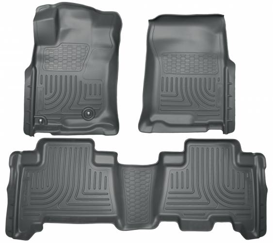 Husky Liners - Husky Liners 98571 WeatherBeater Front and Rear Floor Liner Set