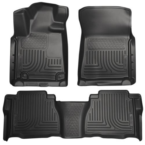 Husky Liners - Husky Liners 98581 WeatherBeater Front and Rear Floor Liner Set