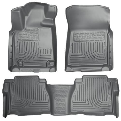 Husky Liners - Husky Liners 98582 WeatherBeater Front and Rear Floor Liner Set